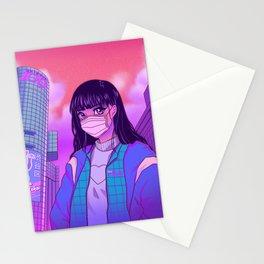 Shibuya Girl Stationery Cards