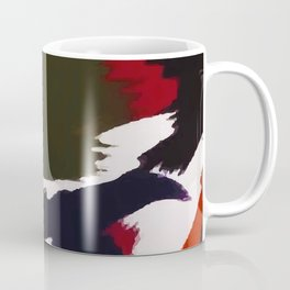 Winter Galaxy Abstract Artistic Brushstrokes Coffee Mug