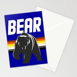 Bear flag for LGBT gay pride season  Stationery Cards