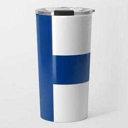 Flag of Finland Finnish Flag Travel Mug