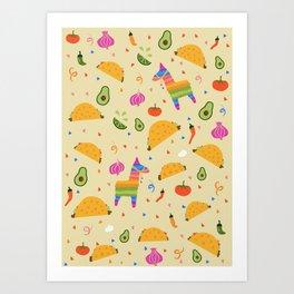 Taco Fiesta Kunstdrucke