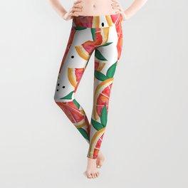 Citrus Surprise #society6 #decor #buyart Leggings