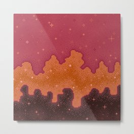 Autumn Starscape Metal Print