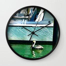 Fishing Buddy Wall Clock