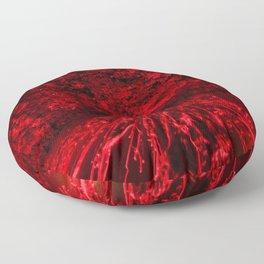 Volcanic eruption Floor Pillow