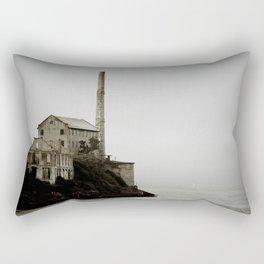 Buildings of Alcatraz Rectangular Pillow