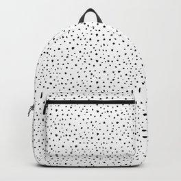 Dalmatian Fur Pattern Backpack