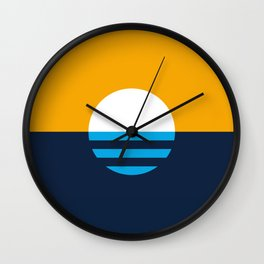 The People's Flag of Milwaukee Wall Clock