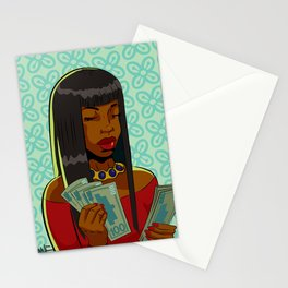 Counting (Black Girls Doing Things) Stationery Cards