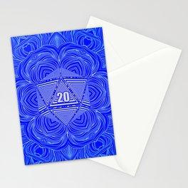 Natural 20 Mandala Purity of the Paladin Stationery Cards