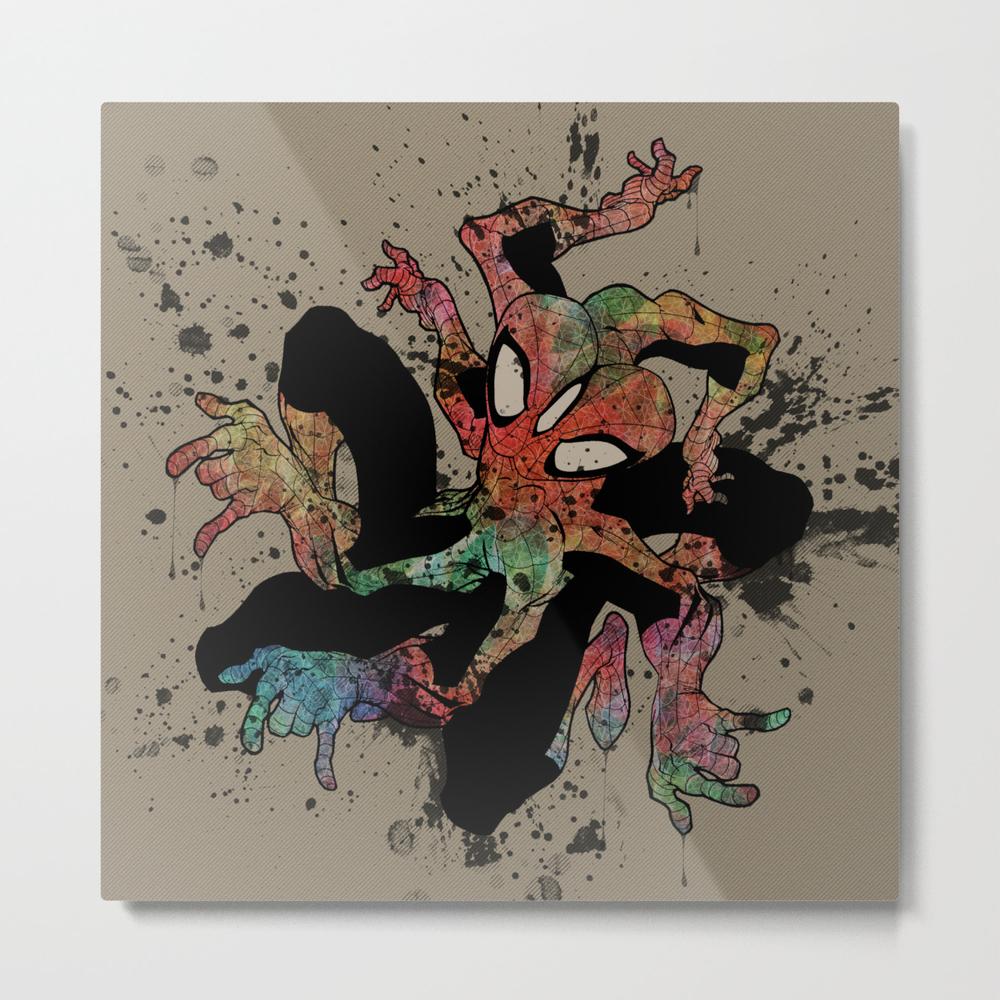 The Spider-man Metal Print by Joshbelden MTP916959
