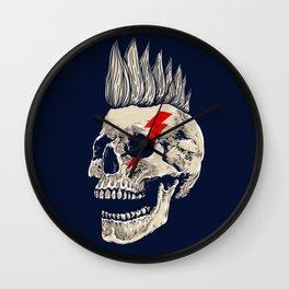 Punks Not Dead Wall Clock