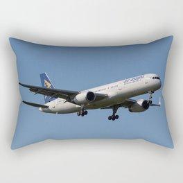 Air Astana Boeing 757 Rectangular Pillow