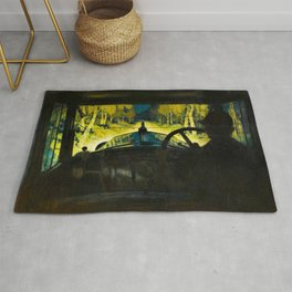 The Enchanted Road by Frank O Salisbury Rug