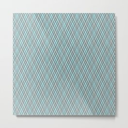 Checkered pattern1 Metal Print