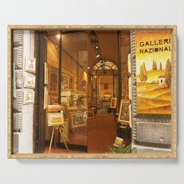 Tuscany. Italy.Cortona. Art Gallery. Serving Tray