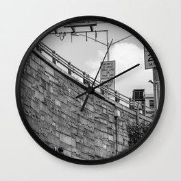 Bridge Climbers  Wall Clock