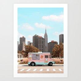 New York Ice Cream Kunstdrucke