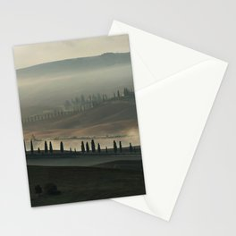 Magical morning in Toscany Stationery Cards