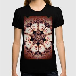 Witchy Woman // Stevie Nicks Mandala Music Star Rock Goddess Psychedelic Gypsy Bohemian Boho T-shirt