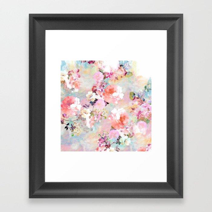 Love of a Flower Gerahmter Kunstdruck