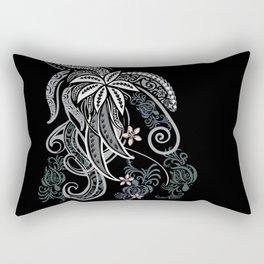 Hawaiian Polynesian Tribal Design Rectangular Pillow