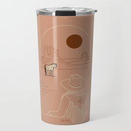 Lost Pony - Pink Clay Travel Mug