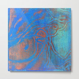 Abstract No. 209 Metal Print