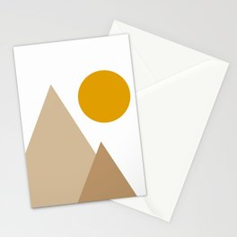 Sun Mountains Stationery Cards