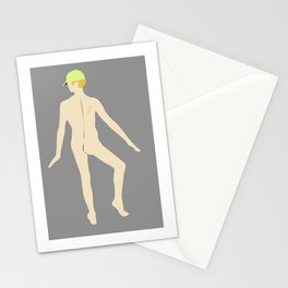 Male Nude Creme 03 Stationery Cards