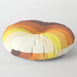 70's Rainbow Print Floor Pillow