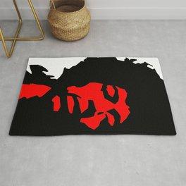 Jimi Hendrix Modern Pop Art Rug