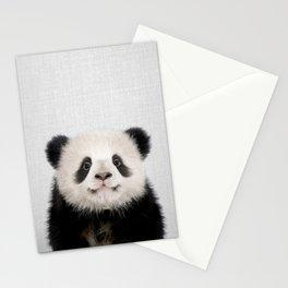 Panda Bear - Colorful Stationery Cards