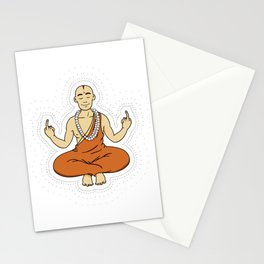 Spiritual peace, unfuck the world ;) Stationery Cards