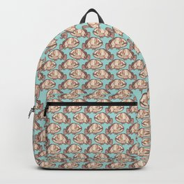 Grouper Starts with G Ocean Animals Alphabet Backpack