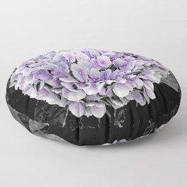 Purple Hydrangea | Nadia Bonello Floor Pillow