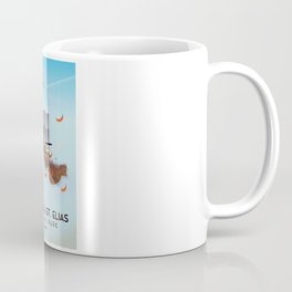 Wrangell-St. Elias National Park Alaska poster Coffee Mug