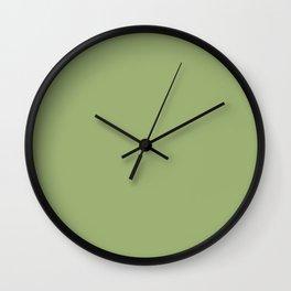Simply Solid - Iguana Green Wall Clock