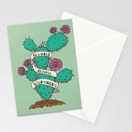 Ni Santas Ni Putas Solo Mujeres Stationery Cards