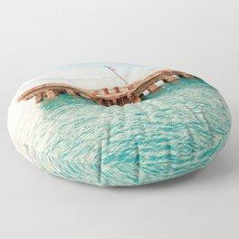 Crash Boat Beach Floor Pillow