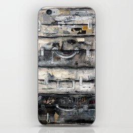 vieille valise iPhone Skin