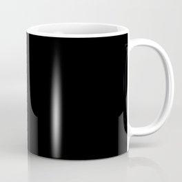black & white clouds #2 Coffee Mug