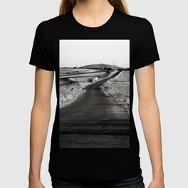 Abandoned Country Road of Sardinia in Italy T-shirt
