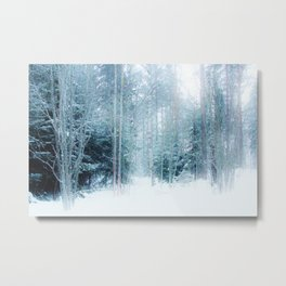 Fabulous forest Metal Print