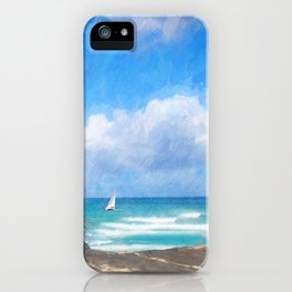Beach Idylle 2018 iPhone Case