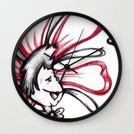 """""""It's You! I Love You!!"""" Flowerkid Wall Clock"""
