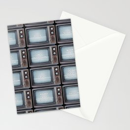 They Live TV Messages Stationery Cards