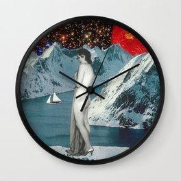 Brisk Nightfall Wall Clock