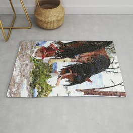 """Gentle Giants"" Rug"