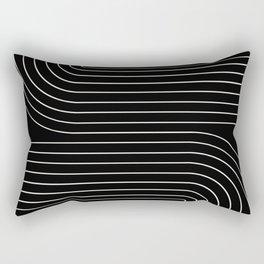 Minimal Line Curvature II Rectangular Pillow